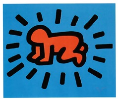 icons #1 by keith haring