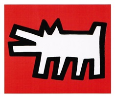 icons #2 by keith haring