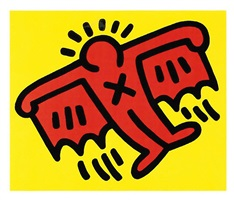 icons #3 by keith haring