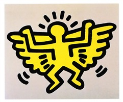 icons #4 by keith haring
