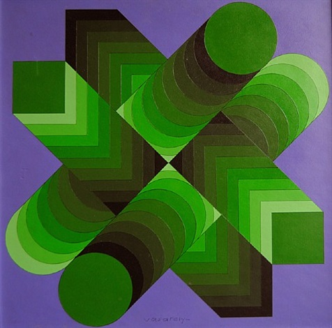 essex ii by victor vasarely