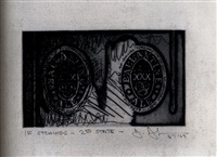 1st etchings 2nd state by jasper johns