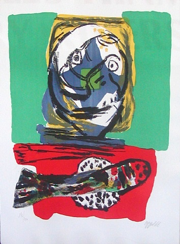 fish by karel appel