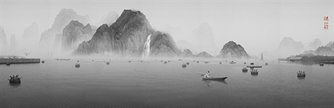 the peach blossom colony - 06 : lonely angler by yang yongliang
