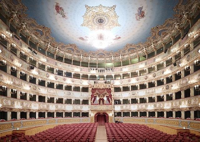 teatro la fenice di venezia v by candida höfer