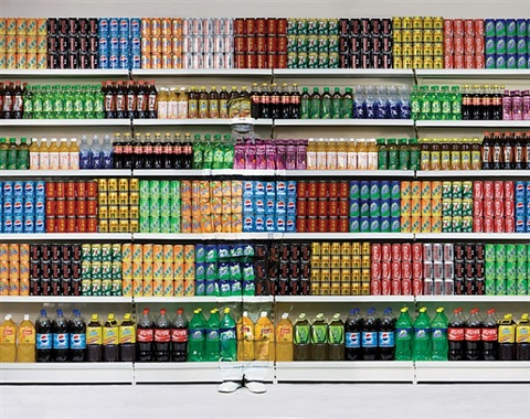 hide in the city - 96 : supermarket iii by liu bolin