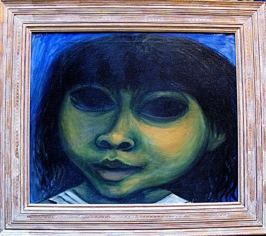 little girl by juan deprèy