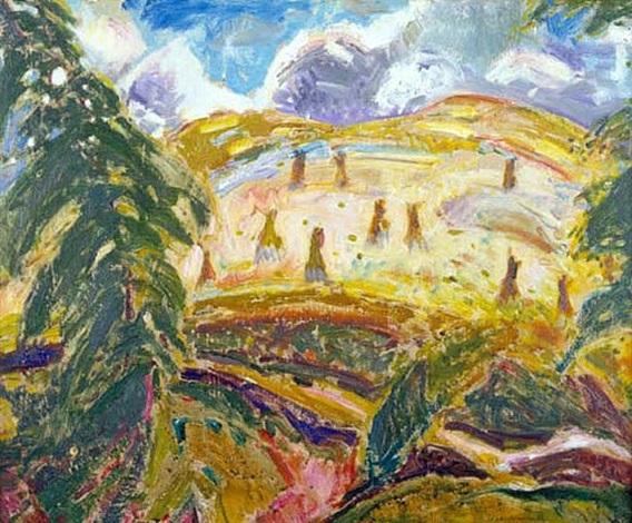 landscape by alfred henry maurer