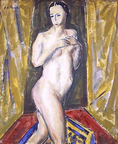 standing nude by alfred henry maurer
