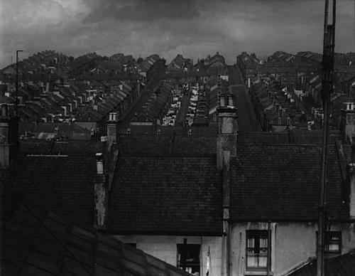 rainswept roofs by bill brandt