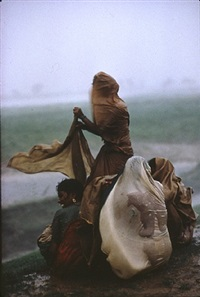 monsoon rains, monghyr, bihar by raghubir singh