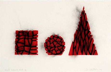 red and black by david nash