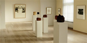 installation view by eduardo chillida