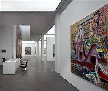 installation view by markus oehlen