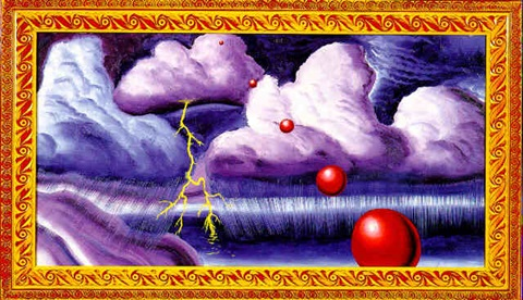 stormy weather by kenny scharf