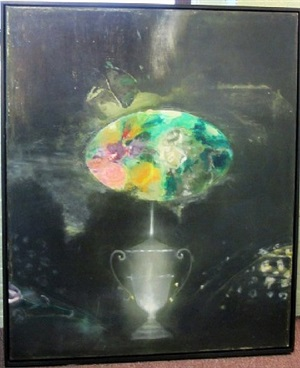 anonymous urn by ross bleckner
