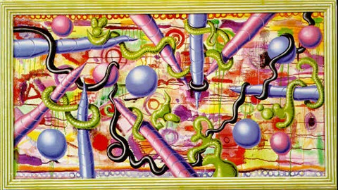 spire squig by kenny scharf