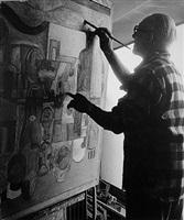 le corbusier peint by lucien hervé