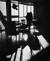 le corbusier dans son atelier by lucien hervé