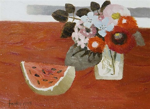 slice of melon by mary fedden