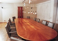 conferencetable t30, chairs s10 by gm weber