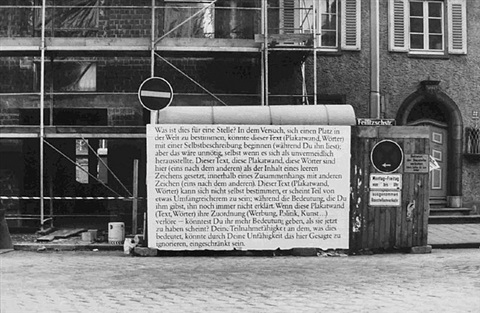 text/context by joseph kosuth