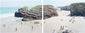 las catedrales diptych by massimo vitali
