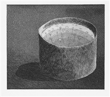 the pot boiling (from the story fundevogel) by david hockney