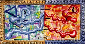 double entendre by kenny scharf