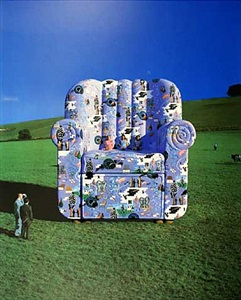 calendar chair by storm thorgerson