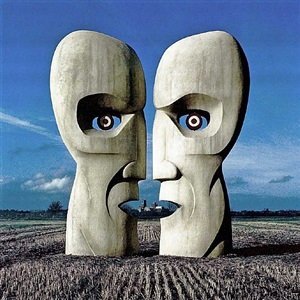division bell - stone heads by storm thorgerson