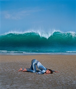 wave (deepest blue) by storm thorgerson