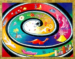 history of the world by kenny scharf