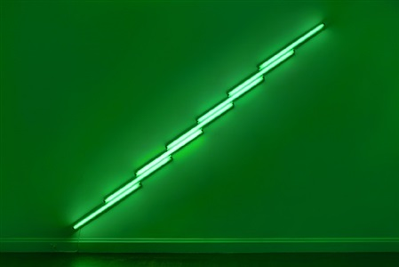 dan flavin three works by dan flavin