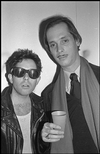 bobby grossman and john waters, soho by bobby grossman