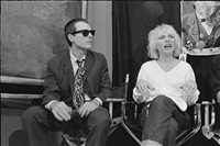 glenn o' brien and debbie harry, tv party by bobby grossman