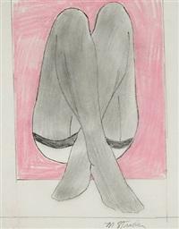 crossed legs by marjorie virginia strider