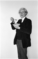 andy warhol, corn flakes, the factory by bobby grossman