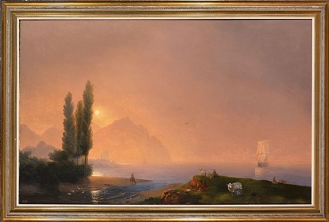 crimean view by ivan konstantinovich aivazovsky
