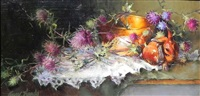 rabbit thistles and brass by anne hardy