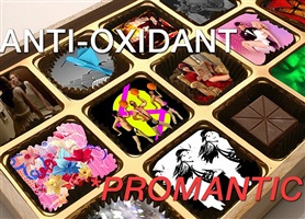 anti-oxidant: promantic exhibition flyer