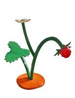 erdbeere mit blüte by thomas stimm
