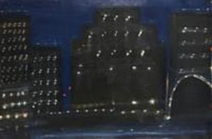 tribeca in blue by kathryn lynch