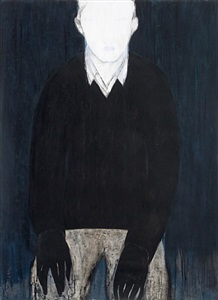 untitled (black hands) by iris schomaker