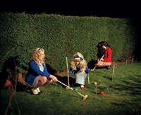 the croquet game (i want to be just like you) by rachel louise brown