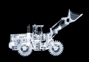 bulldozer by nick veasey