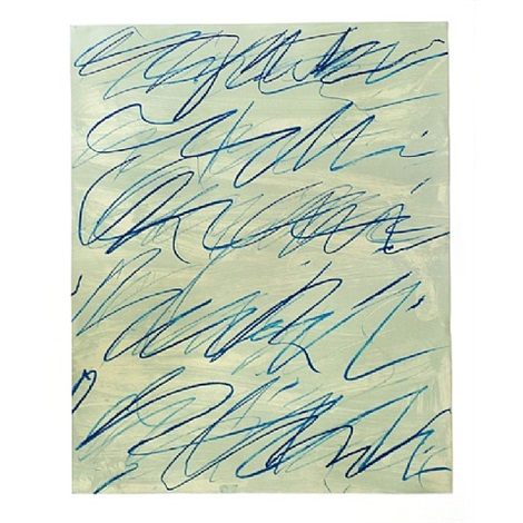 roman notes v by cy twombly