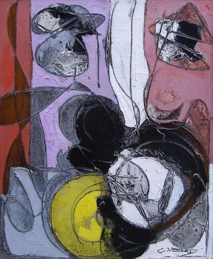 composition still life by claude venard