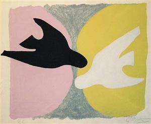 les oiseaux by georges braque