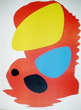 red composition by alexander calder